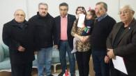 Kızılay Sorgun Şubesinden Şehit Atmaca'nın ailesine taziye ziyareti