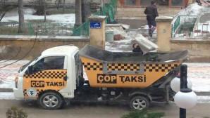 """""""Çöp Taksi"""" ile çöpler daha çabuk toplanacak"""