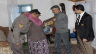Kaymakam Gür, şehit ailelerini ziyaret etti