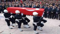 Şehit polis Belkaya'nın cenazesine Cumhurbaşkanı Erdoğan'da katıldı