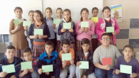 Nusaybin'deki asker ve polise öğrencilerden moral mektubu
