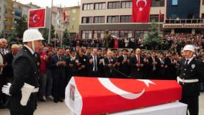 Yozgatlı şehit polis son yolculuğuna uğurlandı