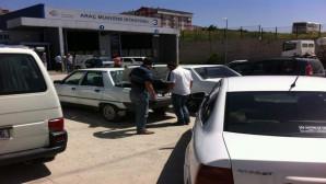 Yozgat'ta araç muayene istasyonu en yoğun günlerini yaşıyor