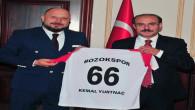 Yozgat Valisi Kemal Yurtnaç'tan spora destek