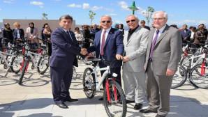 Yozgat Halk Sağlığı Müdürlüğü'nden Üniversiteye 100 Bisiklet