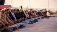 Yozgat'ta meydan da 3 bin kişi sabah namazı kıldı