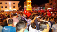 Yozgat'ta halk sokağa döküldü
