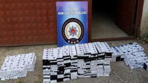Yozgat Emniyeti 2 Bin 250 paket kaçak sigara ele geçirdi