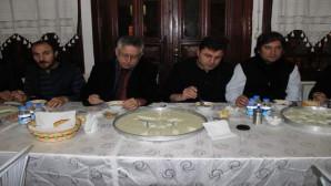 Başkan Arslan, gazetecilerle arabaşı yemeğinde bir araya geldi