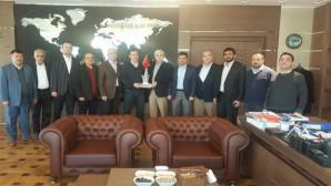 Nurdoğan ve kurum müdürlerinden Başsavcı Yavuz'a ziyaret