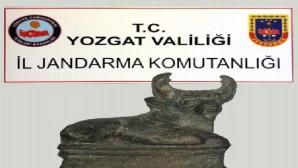 Roma dönemine ait adak heykeli ele geçirildi