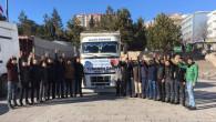 Ülkü Ocakları'ndan Halep'e bir TIR dolusu gıda ve giyecek yardımı