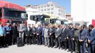 Yozgat'tan Haleplilere 11 TIR un yardımı