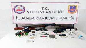 Yozgat Jandarmadan tarihi eser ve uyuşturucu operasyonu