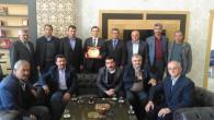Muhtarlardan Yerköy Kaymakamı Şengök'e teşekkür plaketi