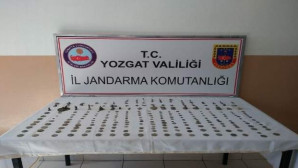 Jandarma tarihi eser operasyonunda 257 eser ele geçirdi
