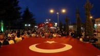 15 Temmuz yıl dönümünde Yozgatlılar meydanı doldurdu