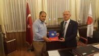 Şerefli'den Rektör Karacabey'e ziyaret