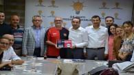 Dokunuş Projesine AK Parti İl yönetiminden anlamlı destek