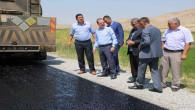 Vali Yurtnaç: Köy yollarımız daha kaliteli yapılmaya başladı