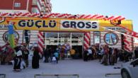 """Alışverişin yeni adresi """"Güçlü Gross"""" açıldı"""