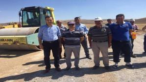Yerköy'de grup köy yolu asfaltlama çalışmalarına başlandı