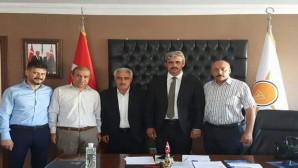 Yozgat SMMMO'dan İl Başkanı Köse'ye hayırlı olsun ziyareti