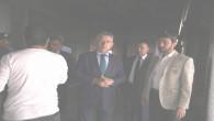 Başkan Arslan, Abide İş Hanında incelemelerde bulundu
