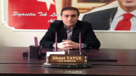 AK Parti Yerköy İlçe Başkanı Yavuz aday olmayacağını açıkladı