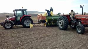 Ekim ayının yaklaşmasıyla çiftçiler hazırlıklara başladı