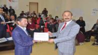 Çocuk kuruluşlarında görevli personele sertifikaları verildi
