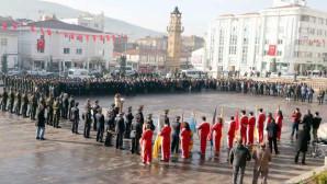 Atatürk, vefatının 79.ncu yıldönümünde Yozgat'ta törenle anıldı