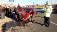 Yozgat'ta trafik kazası: 1 ağır, 5 yaralı