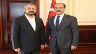 TSO Başkanı Alakoç'tan Vali Yurtnaç'a ziyaret