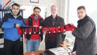 Çapanoğlu Taraftarlar Derneğinden Yeniufuk Gazetesine ziyaret