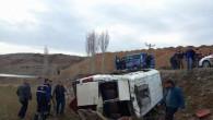 Yozgat'ta münibüs şarampole devrildi: 12 çocuk yaralandı