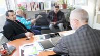 Akgün ve Yavuz'dan Yeniufuk Gazetesine ziyaret