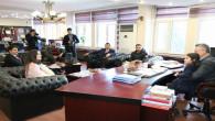 Belediye Başkanı Arslan, minik Irmak'ı konuk etti