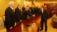 Kıbrıs Gazileri Vali Yurtnaç'ı ziyaret etti