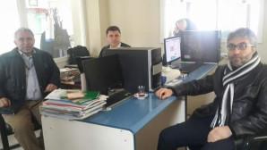 MMO Başkanı Demirel'den gazetemize ziyaret