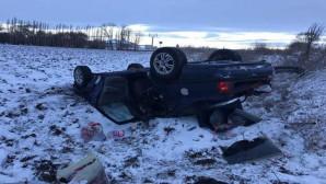 Buzlanma kazaya sebep oldu: 1'i çocuk, 4 kişi yaralandı