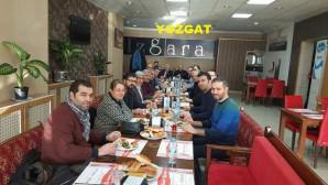 Yozgat SMMMO Başkanı Bulut, üyeleri ile 2017 yılını değerlendirdi