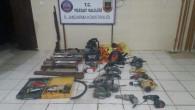 Jandarma operasyonunda 2 hırsız yakalandı