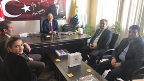 AK Parti Merkez İlçe Teşkilatı kurum ziyaretlerini sürdürüyor