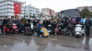 Yozgat Belediyesi akülü tekerlekli sandalye için şarj dolum istasyonu kurdu