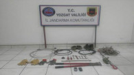 Jandarma'dan, trafo hırsızlığı operasyonu: 2 tutuklama