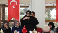 ValiYurtnaç'ın Eşi Dilek Yurtnaç, şehit aileleri ile yemekte bir araya geldi