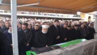 Seyit İpek Hoca son yolculuğuna dualarla uğurlandı