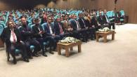 """Ülkü Ocaklarından """"Türkistan coğrafyası ve bağımsızlık hareketleri"""" konferansı"""