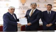 Ahmet Şimşek, aday adaylığı başvurusunda bulundu